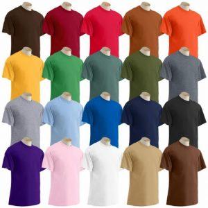 tshirts kleur
